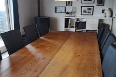 Plankebord eg 2 planker med ibenholtolie