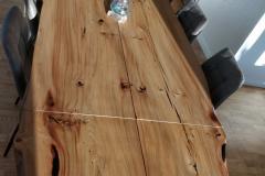 Plankebord elm 2 planker 110 x 210 cm