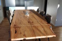 plankebord elm med naturolie 2 planker