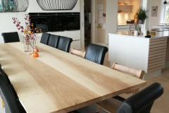plankebord i ask med krydsstel