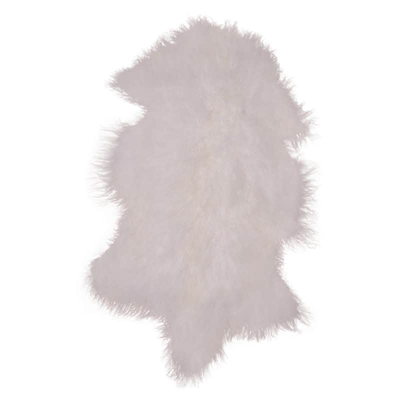 Mongolian lammeskind hvid