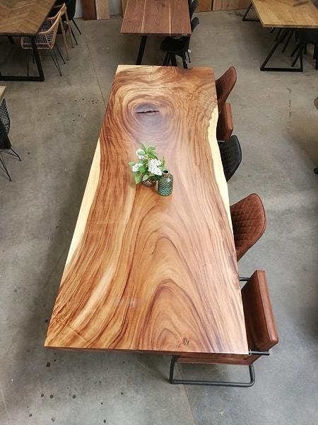 Amerikansk valnød 112x335 cm