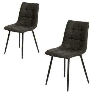 Ellen Spisebordsstol mørkegrå