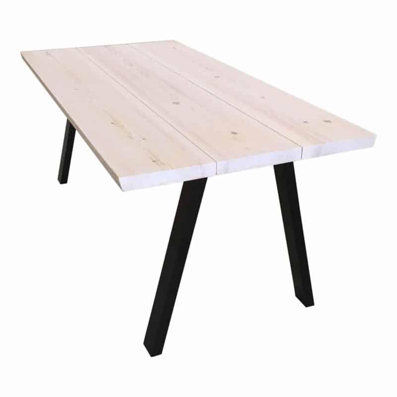 Plankebord fyr hvid olie.