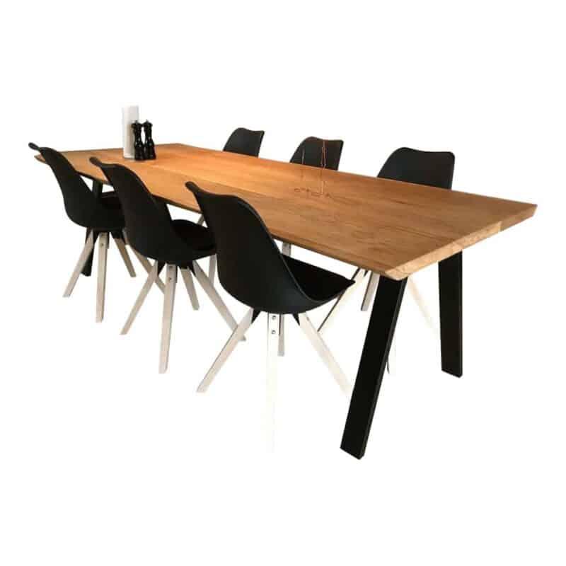Plankebord - 3 planker - natur olie