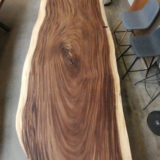 Plankebord amerikansk valnød 100-115 x 300 cm