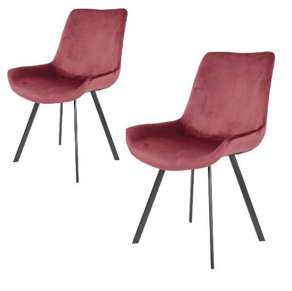 Spiseborddstol Dagmar rød
