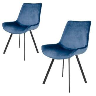 Spisebordsstol Dagmar Blå