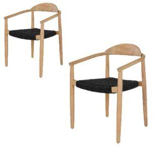 Vera Spisebordsstol eukalyptus med fletsæde