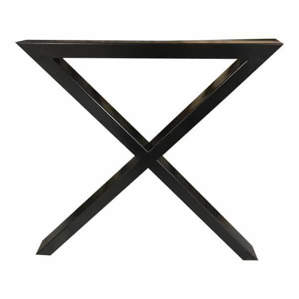 krydsstel til plankeborde, bordben til spisebord.