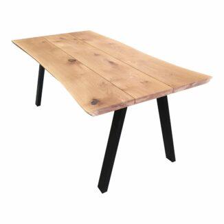 Plankebord i eg