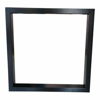 Bordben - Ramme stel i sort eller hvid pulverlakeret stål.