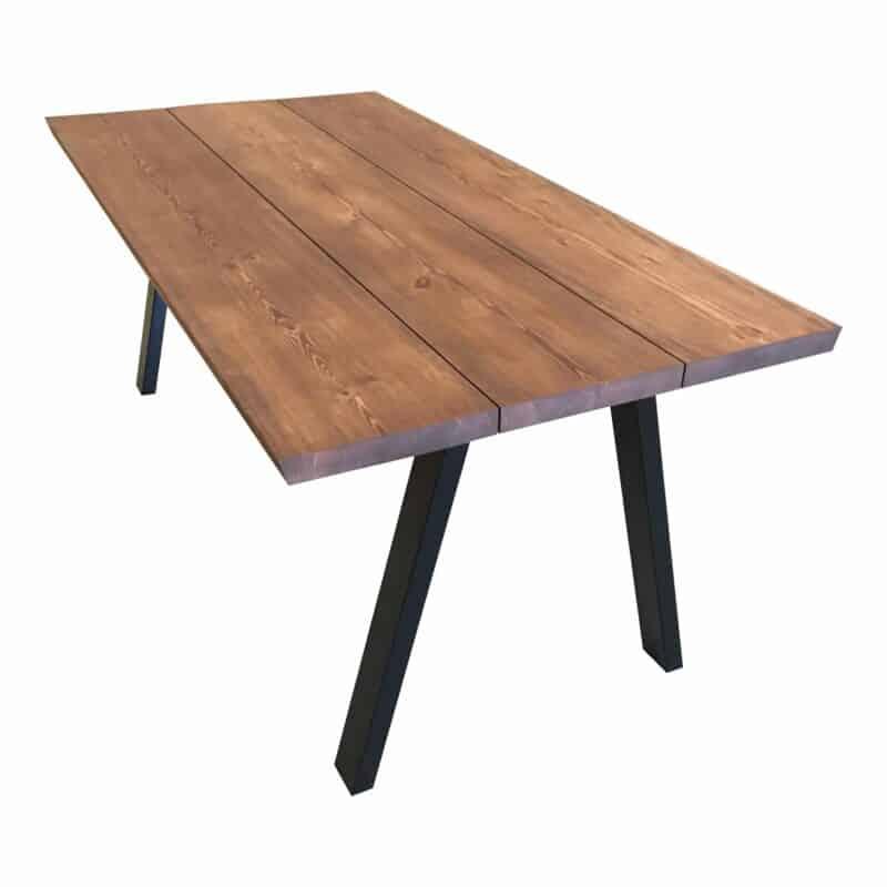 Fyrtræs plankebord valnød
