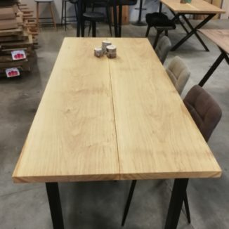 plankebord i eg med naturolie 90x200 cm