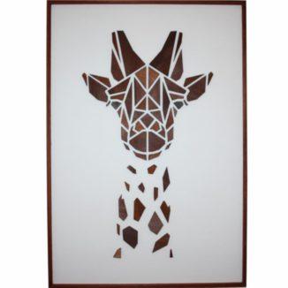 Giraf-motiv-træmotiv