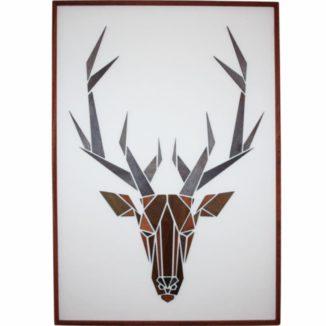 Hjort-motiv-træmotiv