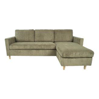Toscana sofa støvet grøn