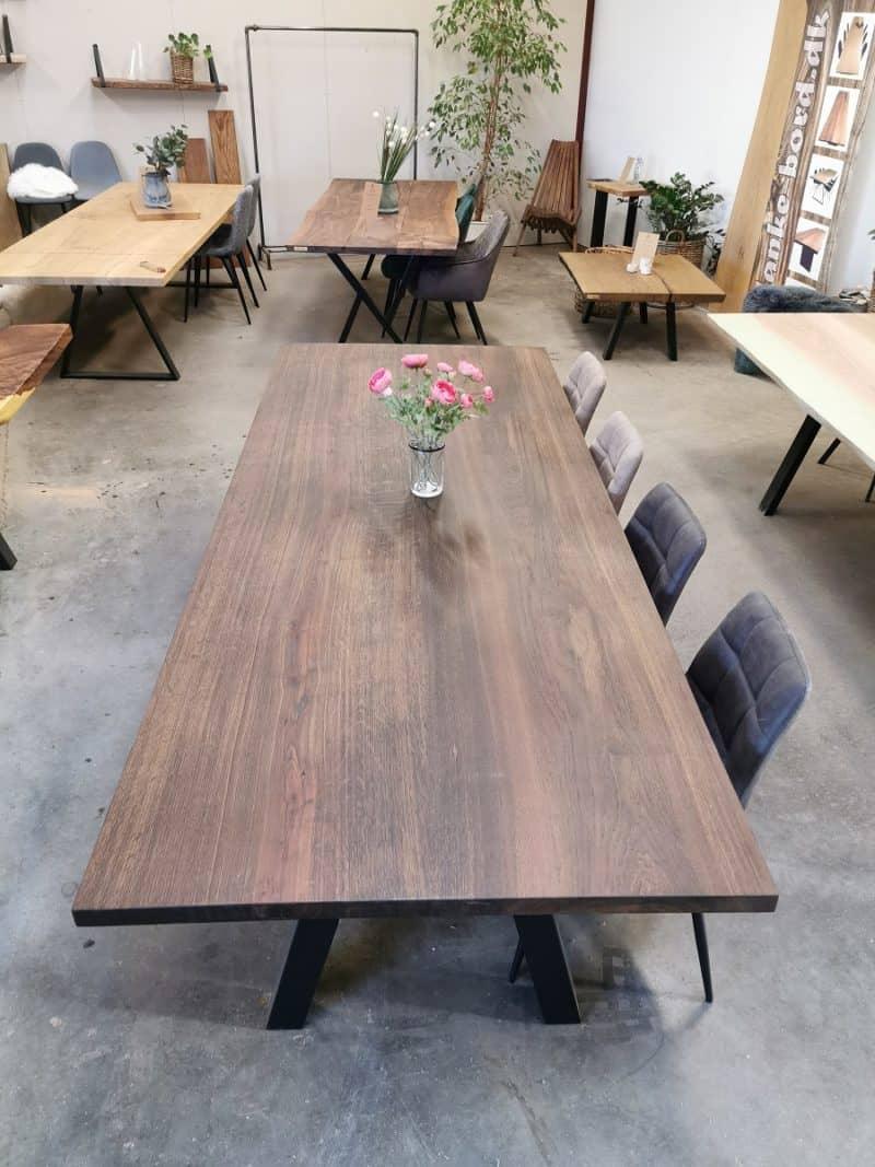 plankebord røget eg 110x280 cm