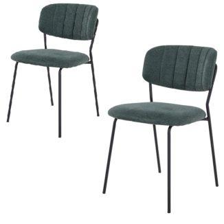 Alicante spisebordsstol grån stabelstol