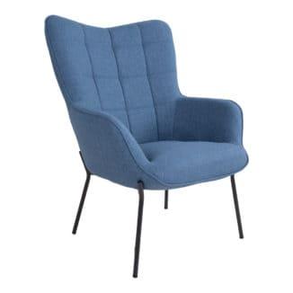 Glasgow blå lænestol