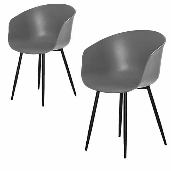 Roda spiseborddstol grå 1