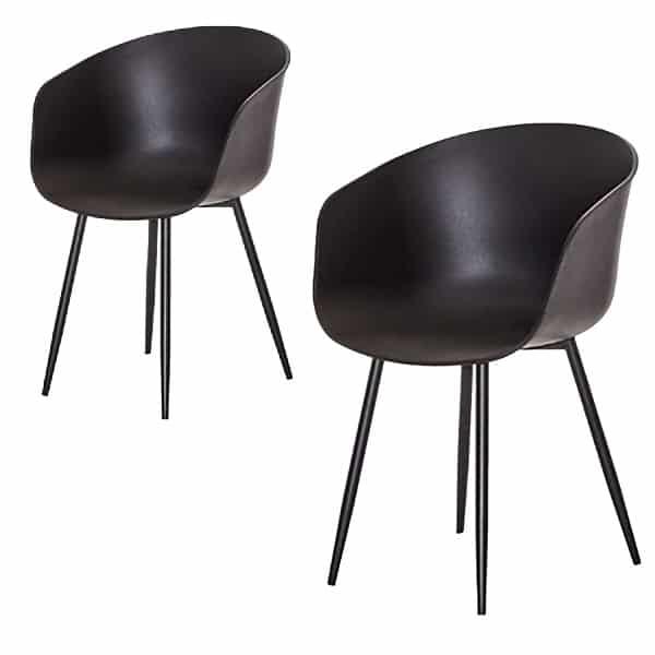 Roda spiseborddstol sort 1