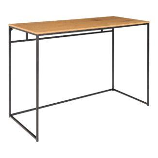 Vita skrivebord eg fra siden