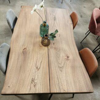 PLankebord i elm med ibenholt olie 90x150 cm (1)