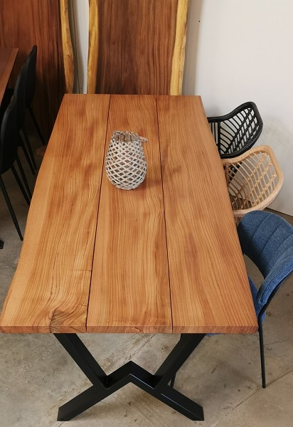 Plankebord elm 95x220 cm