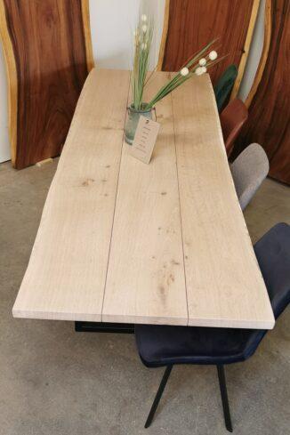 Plankebord eg med hvid