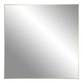 jersey spejl messing kant 60x60 cm