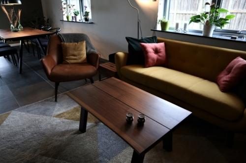 Sofabord i amerikansk valnød